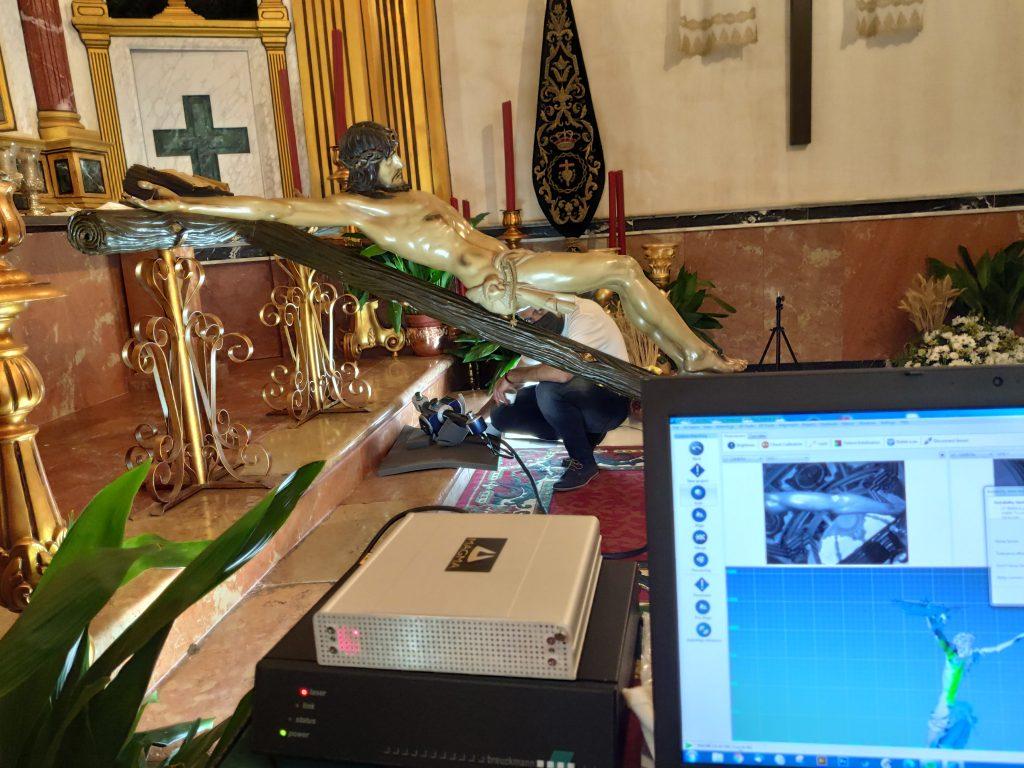 Digitalizado el Stmo. Cristo de la Veracruz de Campillos